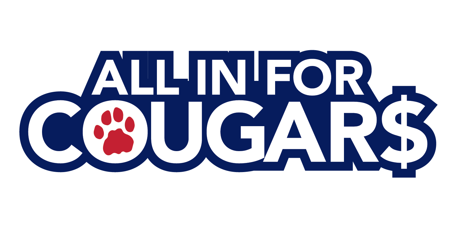 All in for cougars logo