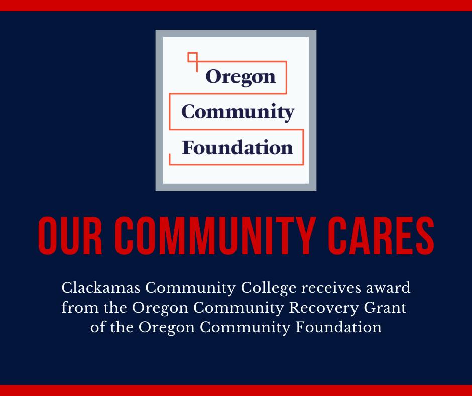 Our community Cares - OCF grant