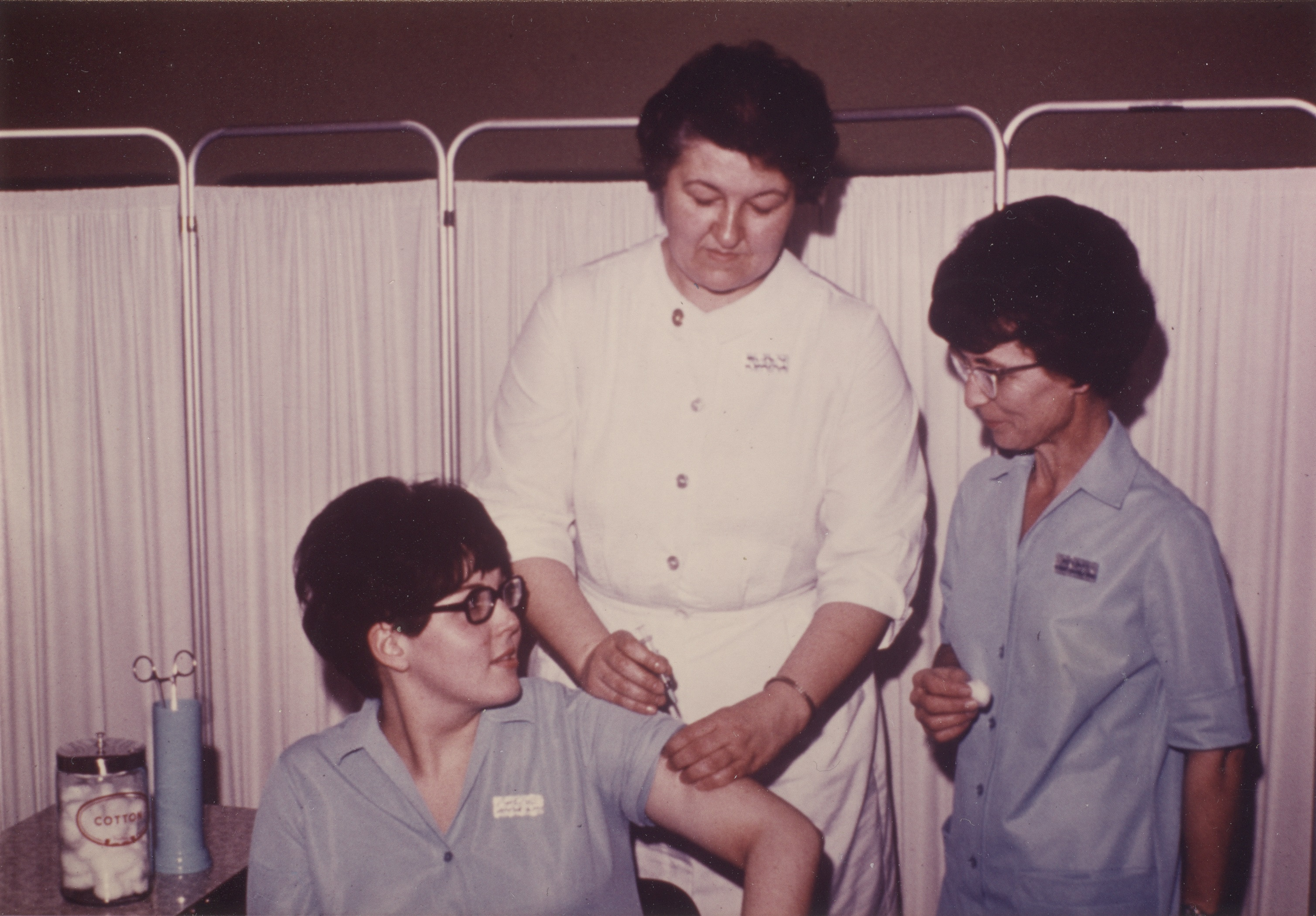 Gerry with CCC Nursing Students