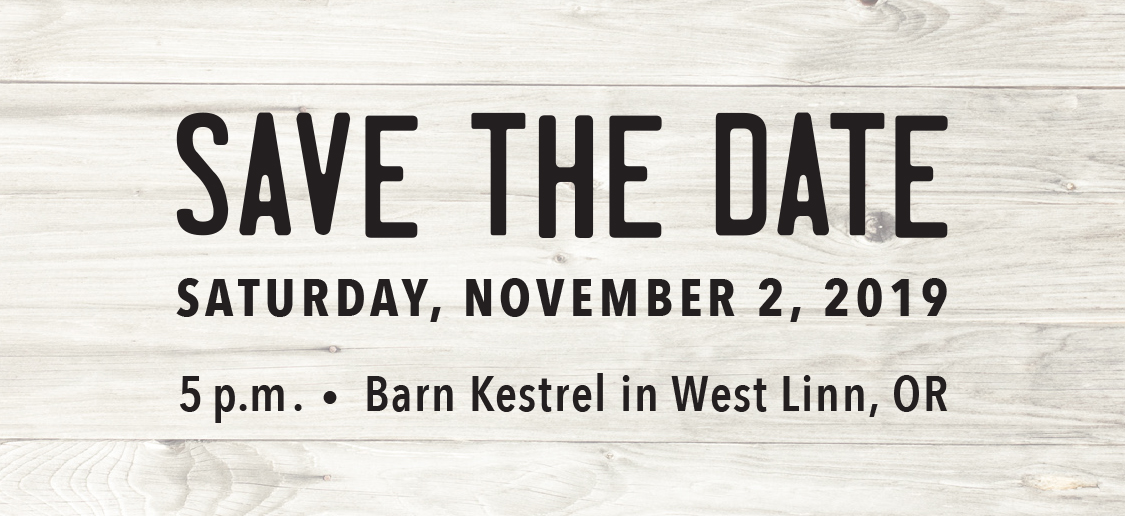 Save the date: Saturday, Nov. 3
