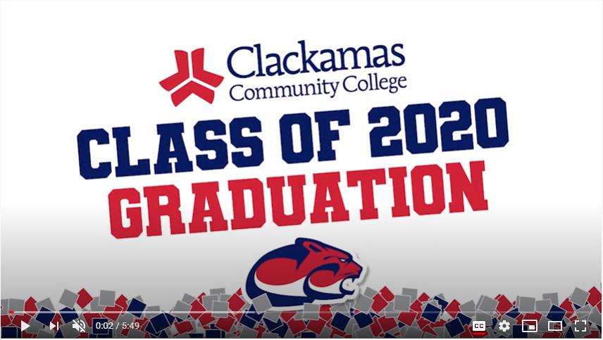 Graduation Video link image
